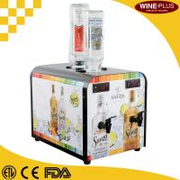 Buy cheap Refrigerated Double Liquor tap machine, Gravity Fed Pour Wine Liquor Dispenser product