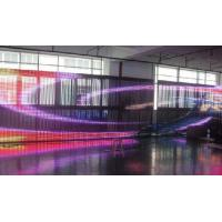 Buy cheap 18.75mm Waterproof Curtain LED Screen IP65 For Advertising , 5050 SMD LED Display product