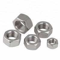 Buy cheap Auto Parts Stainless Steel Hex Nuts Passivated Fine Thread Zinc Plated Finish product