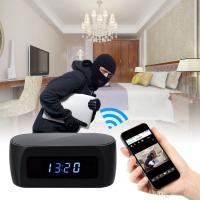Buy cheap Wholesale 1920*1080P Wifi Spy Clock Camera with Night Vision IP Camera Hidden P2P Cam Home Security Surveillance Camcord product