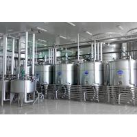 Buy cheap Gable Top Carton Stirred Yoghurt Production Line / Yogurt Processing Plant 5000L from wholesalers
