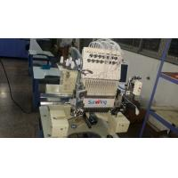 China 15 Colors Single Head Embroidery Machine With Sequin / Cording Device 125kgs on sale