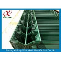 Buy cheap Durable Pvc Coated Welded Wire Mesh Fence For Public Grounds 50*200mm product