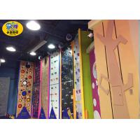 Buy cheap Commercial Indoor Kids Rock Climbing Wall High Strength Steel Frame And Plate product