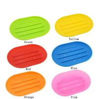 Buy cheap 100% Food Grade  Silicone Household Colorful Shape Custom Soft Silicone Soap Box product
