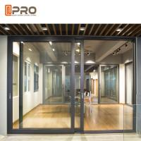 Buy cheap Sound Proof Aluminium Sliding Glass Doors For Residential And Commercial product