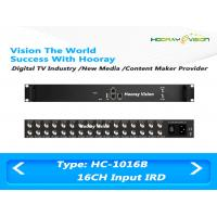 Buy cheap Multi Channels DVB-S2 Input Digital Satellite Receiver with 512 SPTS UDP Output product