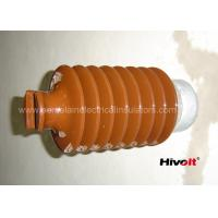 Buy cheap IEC Standard Caped Line Post Insulator 35KV With Metal Base / Tie Top product