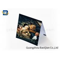 Buy cheap Gift Lenticular Greeting Cards Beautiful Picture 4 Color 3D UV Printing product