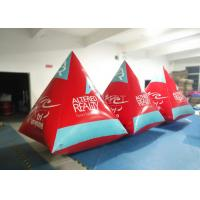 Buy cheap Safety Red Pyramid Water Buoy Markers Customized Size EN14960 Approved product