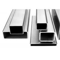 China Welded Plain 3x3 Ss Square Tube , Stainless Steel Hollow Tube Standard Sizes on sale