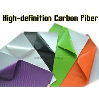 Buy cheap High-definition Carbon Fiber Vinyl Car Wrapping Film - colors for choose product