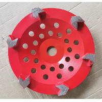 Buy cheap Arrow segment Diamond Cup Diamond Grinding Wheels Grinding Concrete With Customized Color product