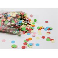 Buy cheap Small Round Gummed Paper Spots Bio - Degradable For Handwork Party Decoration product