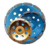 Buy cheap 105-180mm Single Row Diamond single row cup wheel for grinding stone and concrete SGW product