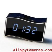 Buy cheap 1080P WIFI Spy IP clock camera with Wide angle lens Support RJ45 Lan cable product