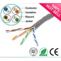 Quality 1000ft Cat5e Cable  UTP Solid 0.51mm BC/CCA 24AWG Twisted Pair Wire for sale