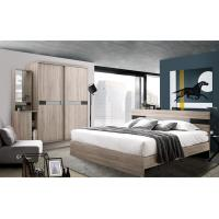 Buy cheap High - class Melamine Bedroom King Size Bed Sets For Apartment product
