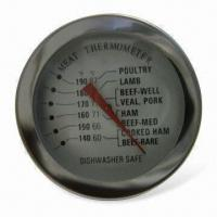 Buy cheap Meat Thermometer with Stainless Steel Cast and Glass Type Lens product