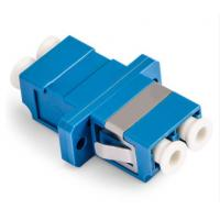 Buy cheap LC Duplex Fiber Optic Adapter Single Mode Small Size Large Capacity For CATV product
