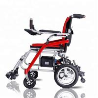 Buy cheap Ultralight Folding Handicapped Electric Wheelchair Rehabilitation for Health from wholesalers