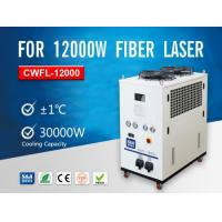 Buy cheap Recirculating Refrigeration Air-Cooled Water Chillers CWFL-12000 For 12KW Fiber Laser product