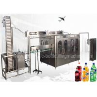 China Fully Automatic Energy Drink Making Machine , Industrial Carbonated Water Machine on sale