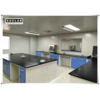 Buy cheap 13mm Worktops Science Laboratory Furniture Workbench Chemical Resistant product