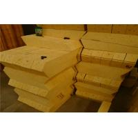 Quality Light Weight Thermal Alumina Silica Bricks For Electric Arc Furnace Roof for sale