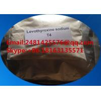 Buy cheap 25416-65-3 Pharmaceutical Raw Materials Levothyroxine Sodium T4 For Weight Loss from wholesalers
