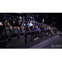 Buy cheap Elegant 3 Degrees Of Freedom Interactive 5D Cinema Chair With 12 Special Effects product
