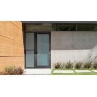 Buy cheap Patio Single Panel Aluminium Casement Hinged Glass Door Customized Profile Color product