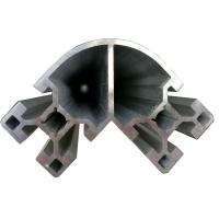 Buy cheap Corner Aluminium Extruded Profiles For Construction Frame Industrial product