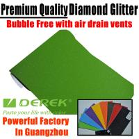 Buy cheap Brilliant Diamond Sanding Glitter Vinyl -- Sparkle Wrap Apple Green product