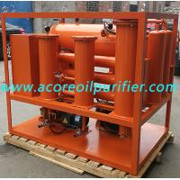 Buy cheap Turbine Oil Filtration Equipment with Varnish Removal System,Oil Dehydration Plant product