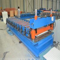 Buy cheap Steel Profile Roofing Corrugated Sheet Roll Forming Machine 0.3 - 0.8mm Thickness from wholesalers