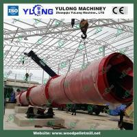 Buy cheap Wood chips Rotary Drum Dryer Drying Machine GHG 2.2*12 1.2 t/h product