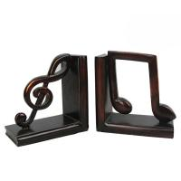 Buy cheap Study Room Music Themed Bookends / Eco - Friendly Music Note Bookends product