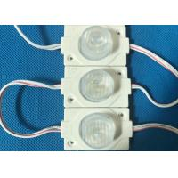 12 Volt LED Injection Module For Advertising Fonts 74*20mm Super Brightness