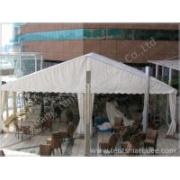 Quality White PVC Fabric Cover Outdoor Event Tent , wind resistant tent with White Roof Lining for sale
