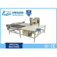 Buy cheap Hwashi X/Y Axis Feeder Automatic Wire Mesh Welding Machine with in 1000mmx1000mm product