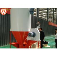 Buy cheap Commercial Mixer Grinder Machine , Capacity 1 T/H Mixer Volume 2m³ Poultry Feed Mixer product