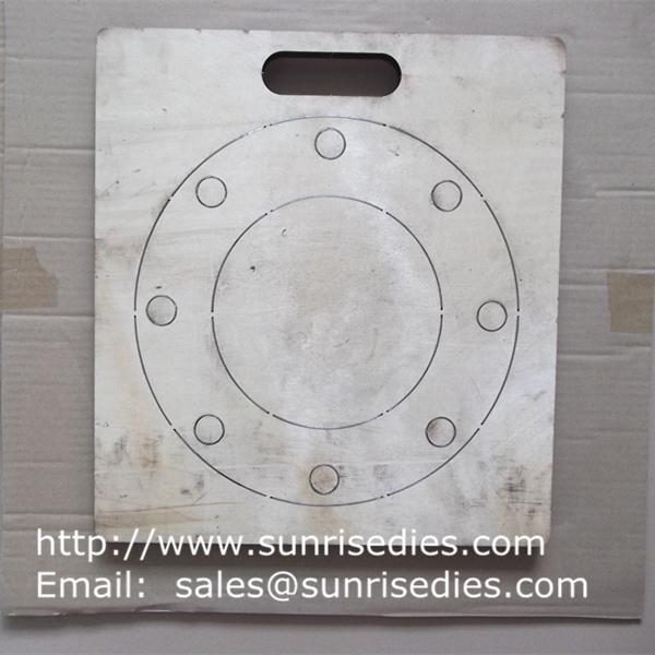 Large board rubber gasket steel cutting dies