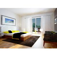 Buy cheap 3 - 4 Star Hotel Apartment Furniture Bed Room Sets with Formica HPL product