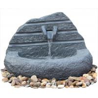 Buy cheap Natural Stone Carved Irregular Figure Garden Water Fountains Outdoor product