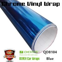 Buy cheap Chrome Mirror Car Wrapping Vinyl Film 3 layers - Chrome Blue product