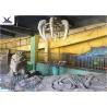 Buy cheap Indoor Museum Life Size Dinosaur Replicas , Sunproof Dinosaur Skeleton Replica product