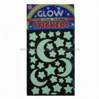 Buy cheap Glow-in-dark star moon stickers product