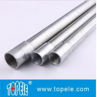 Buy cheap Electrical Galvanized Steel BS4568 Conduit GI Tube With Threaded Coupler, 10 Feet product