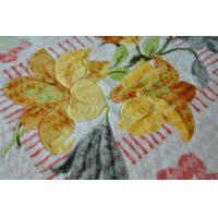 Buy cheap Home Thermal Printed 100% Polyester Blanket 4kg For Adults , 2 Ply Mink Blankets from wholesalers